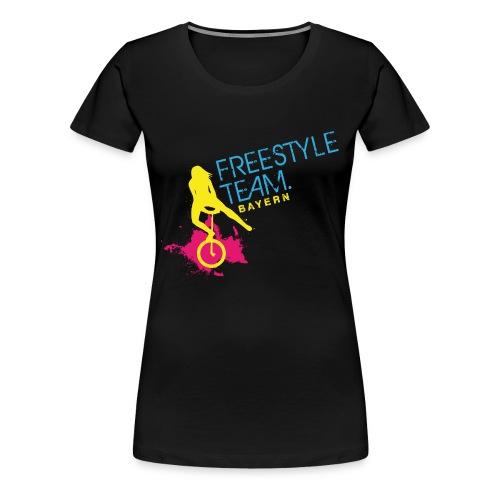 Wortbildmarke_2015 - Frauen Premium T-Shirt