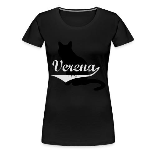 Verena Cat - Frauen Premium T-Shirt