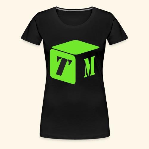 TM Logo - Frauen Premium T-Shirt