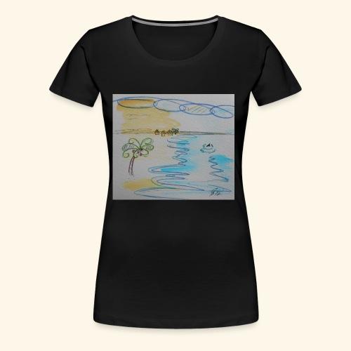 Südseehai - Frauen Premium T-Shirt