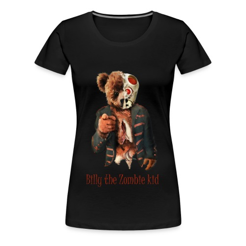 Billy the Zombie kid T-shirt. - Premium-T-shirt dam