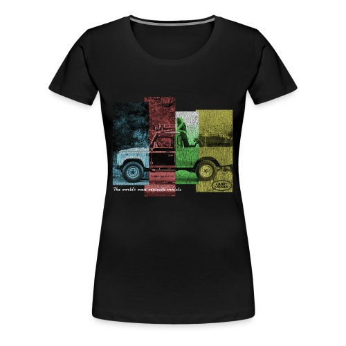 Passion land - T-shirt Premium Femme