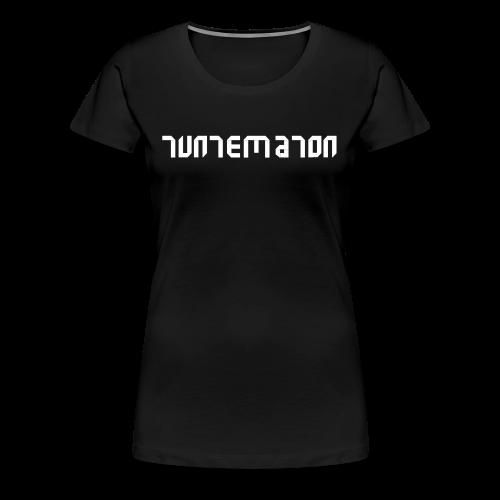 Teippilogo - Naisten premium t-paita
