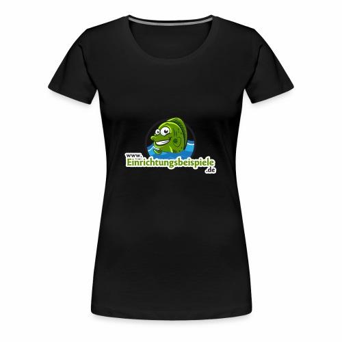 Einrichtungsbeispiele.de Logo - Frauen Premium T-Shirt