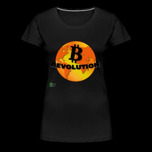 BTC Revolution - Frauen Premium T-Shirt