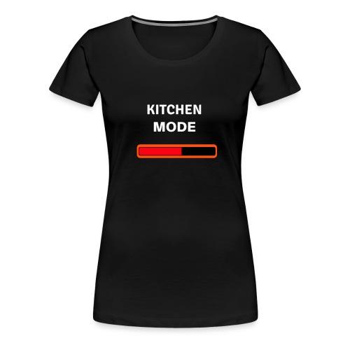 Kitchen Mode Kochen Essen Geschenk Küche backen - Frauen Premium T-Shirt