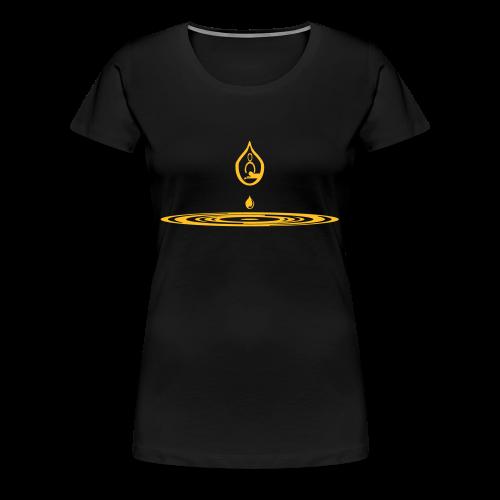 Zen-massage Logo-Design - Women's Premium T-Shirt