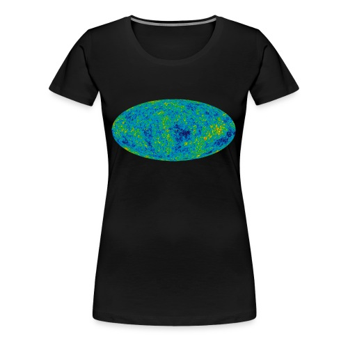 Cosmic Microwave Background - Frauen Premium T-Shirt