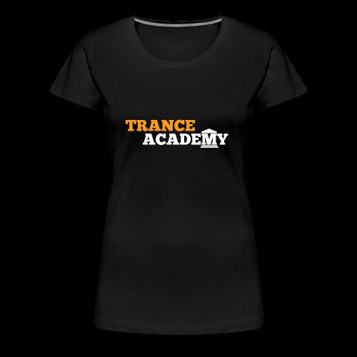 Trance Academy Logo - Women's Premium T-Shirt