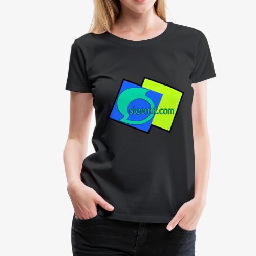 Steemit.com Promotion T - Women's Premium T-Shirt