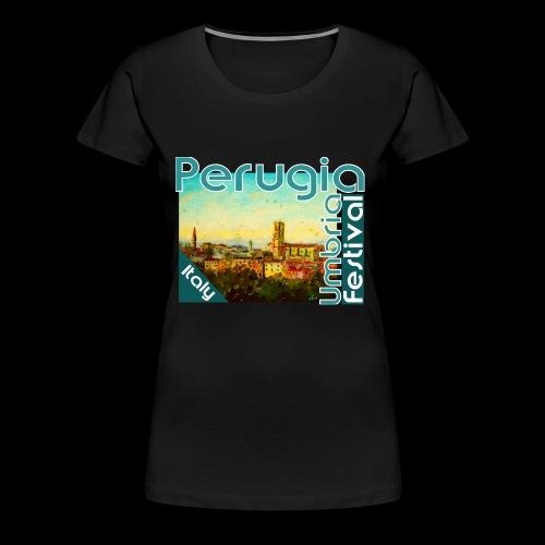 Perugia Umbria Festival Italy - Frauen Premium T-Shirt