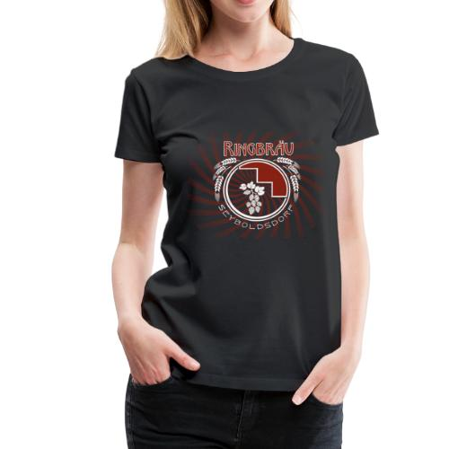 logo01 black var06 - Frauen Premium T-Shirt