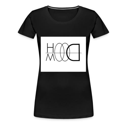 HOODMOOD T-shirt Basic - Maglietta Premium da donna