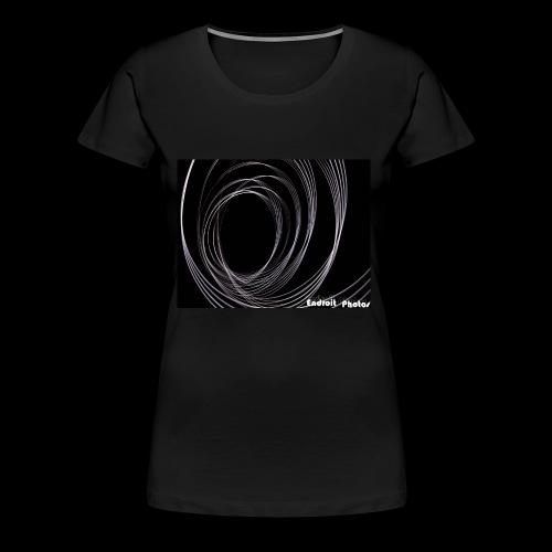 Lightpainting 2 - Frauen Premium T-Shirt