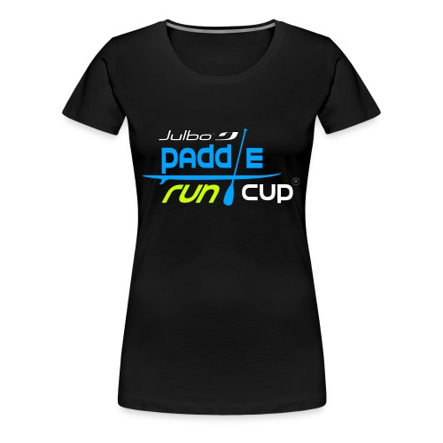 SPREADSHIRT_Logos_Paddle_Run_v3_-3- - T-shirt Premium Femme