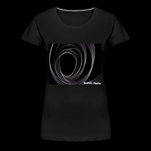 Lightpainting 2 - Frauen Premium T-Shirt