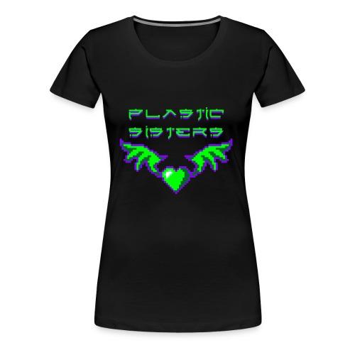 pixheartsisgreen2 Kopie - Frauen Premium T-Shirt