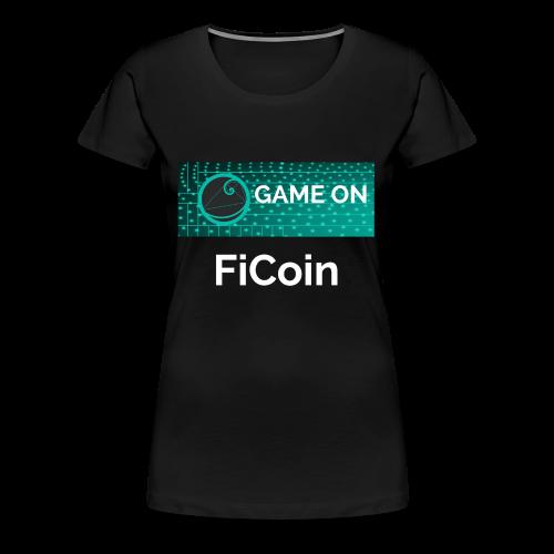 GameOn Light Tekst - Vrouwen Premium T-shirt