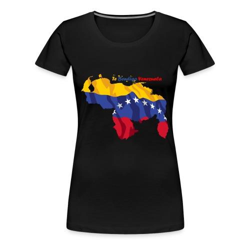 Bandera de Venezuela - Camiseta premium mujer