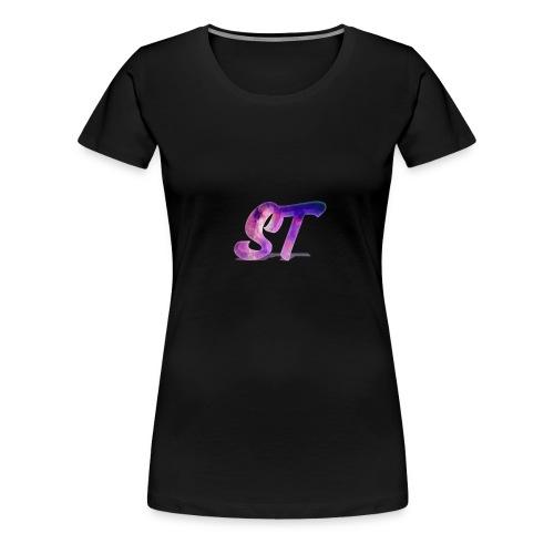 Logo Shorts - Frauen Premium T-Shirt