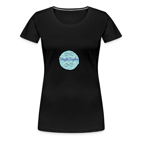 SimpleSophie Merch - Women's Premium T-Shirt