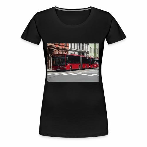 Een bus in Innsbruck - Vrouwen Premium T-shirt