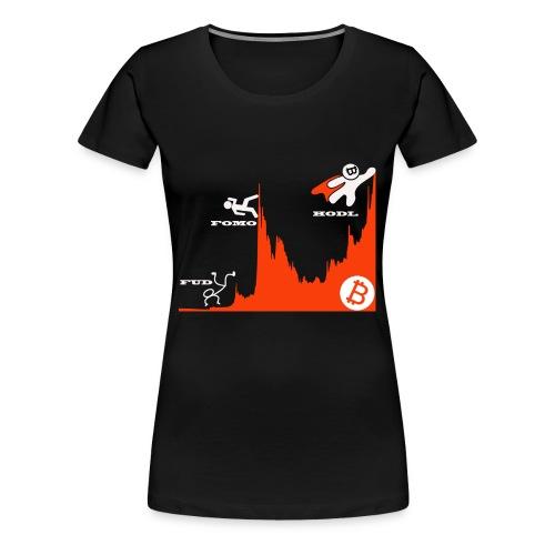 T shirt crypto Hodl - Vrouwen Premium T-shirt
