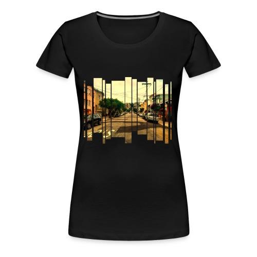 San Francisco Street - Frauen Premium T-Shirt