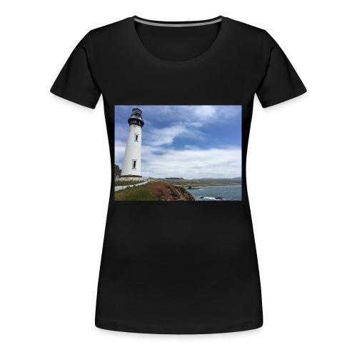 LIGHTHOUSE - Maglietta Premium da donna