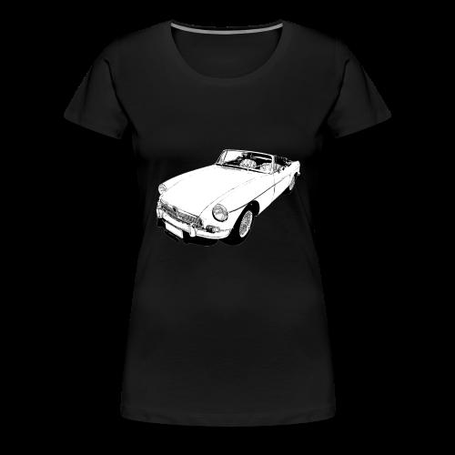 Classic British sports car - Women's Premium T-Shirt