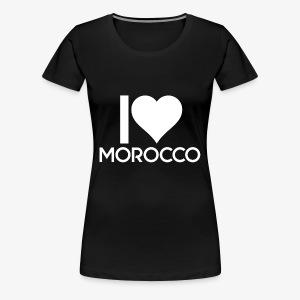 i love Morocco - T-shirt Premium Femme