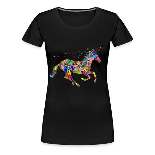 Unicornio magico - Camiseta premium mujer