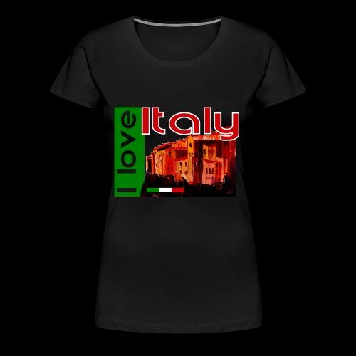 I love Italy! Trikolore - Frauen Premium T-Shirt