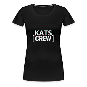 KATS CREW Logo - Koszulka damska Premium