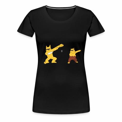 Saffron city gym - Women's Premium T-Shirt
