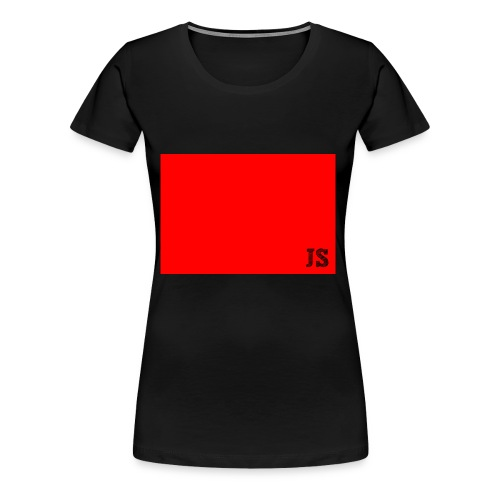 JustSquares Rood - Vrouwen Premium T-shirt
