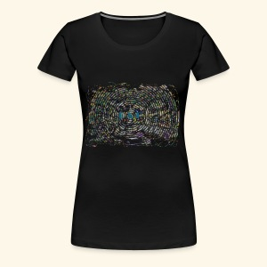 Street Art hypnotique - T-shirt Premium Femme