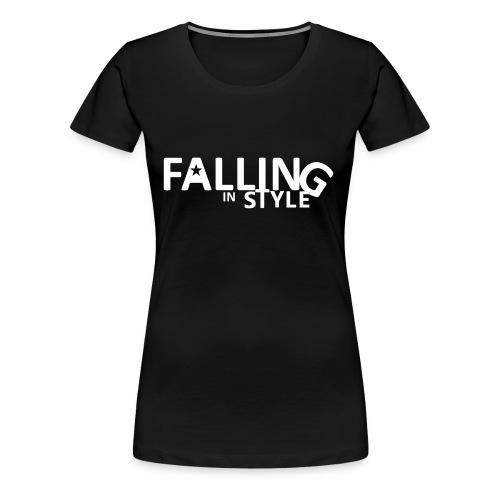 Falling In Style - Women's Premium T-Shirt