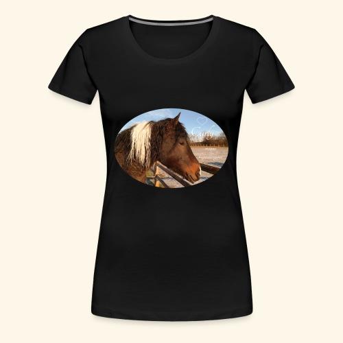 Curlyhorse - Premium T-skjorte for kvinner