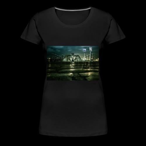 Hamburger Fischmarkt - Frauen Premium T-Shirt