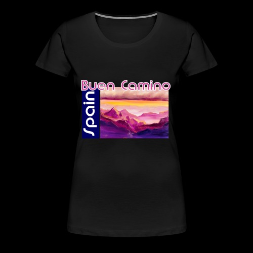 Spain: Buen Camino. Jakobsweg - Frauen Premium T-Shirt