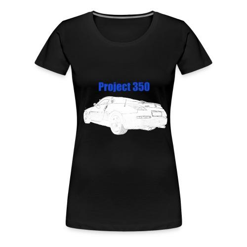 Alpha Wolves - Project 350 - Women's Premium T-Shirt