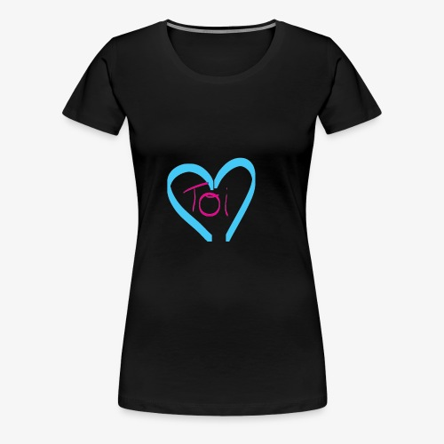Mon cœur c'est Toi - T-shirt Premium Femme