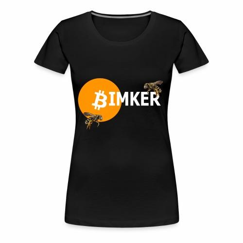 IMKER t shirt - Frauen Premium T-Shirt