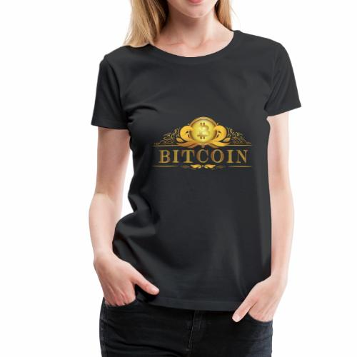 Bitcoin Label #3 - Frauen Premium T-Shirt