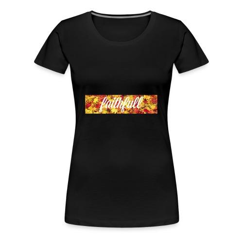 faithfull box logo - Vrouwen Premium T-shirt
