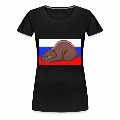 Russian Bear - Frauen Premium T-Shirt