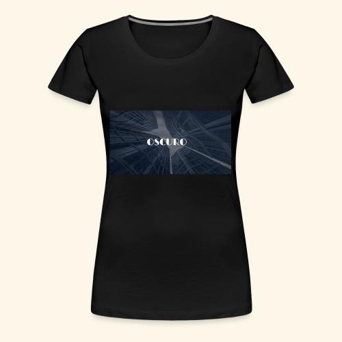 COPERTINA ALBUM OSCURO - Maglietta Premium da donna