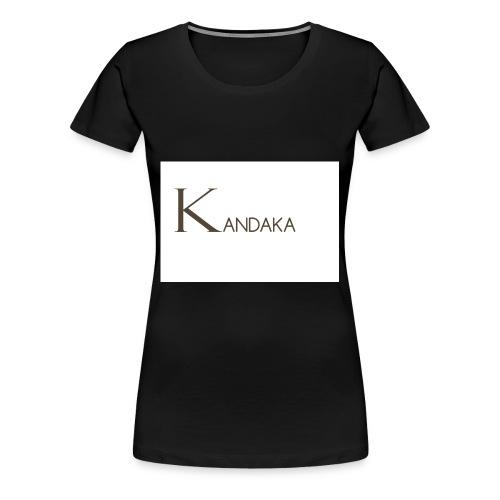 SOYEZ UNE GUERRIERE ET UNE REINE - T-shirt Premium Femme