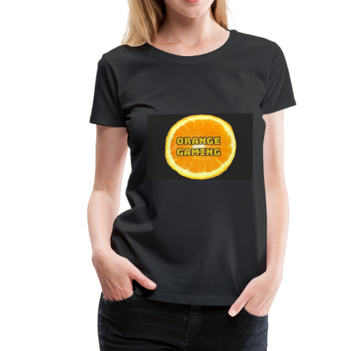 Orange_Logo_Black - Women's Premium T-Shirt